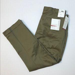 Perry Ellis Cottons Size W34 x L30 Tan/Fawn Slacks